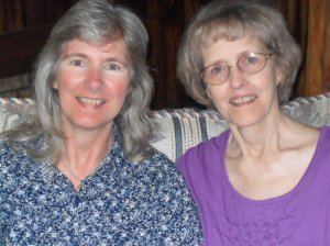 Mama and me on Mother's Day a few years ago.